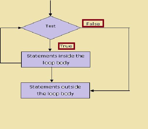 testing while loop